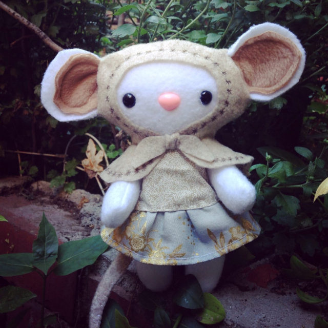 Little Babushka mousey is looking for a home handmadetoys handmadehellip